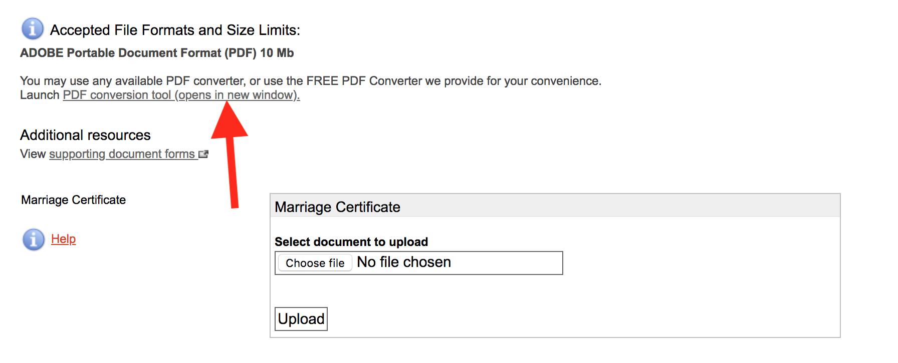 PDF converter - commonwealth courts portal