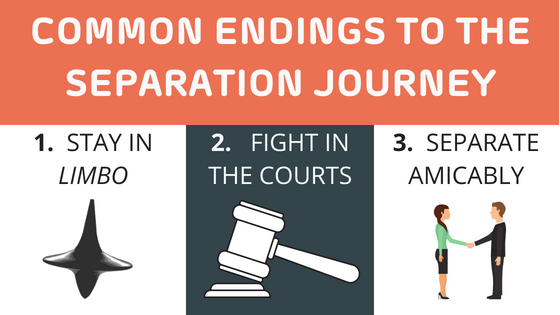 Common Endings to the Separation Journey